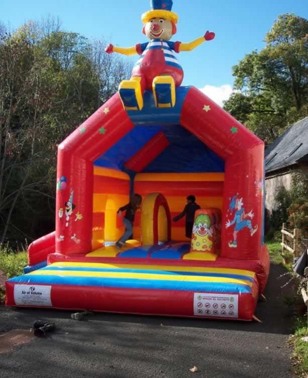 Sarl la loc : Location de jeux gonflable chateau tobog