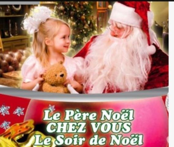 Père Noël à domicile : Père Noël a domicile