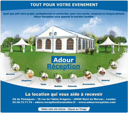 ADOUR RECEPTION