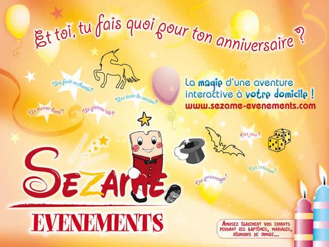 SEZAME EVENEMENTS : Evenements festifs pour enfants