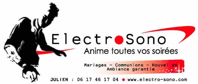Electro-sono : Animation de soirées Mariages anniversaires