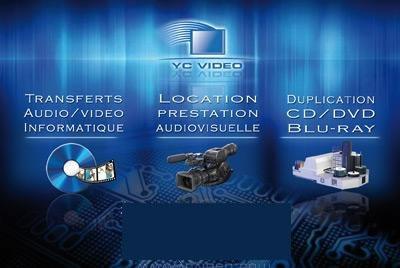 YC VIDEO : Location de matériel audiovisuel
