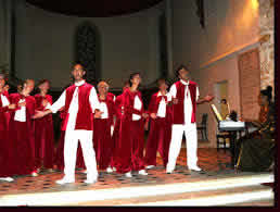 Chorale Gospel Dominique Sylvain