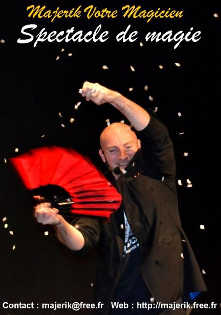 Majerik Votre Magicien : MENTALISTE PRESTIDIGITATEUR GRAND EST
