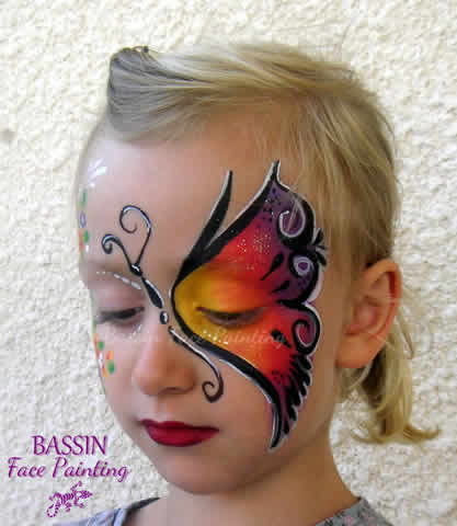 Bassin Face Painting : Maquillage artistique, body painting