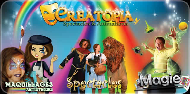 CREATOPIA Spectacles & Animations : Animations enfants