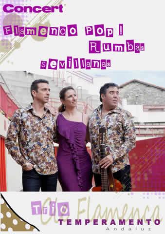 Cie Flamenca Temperamento Andaluz : Trio ambiance espagnole et gypsy