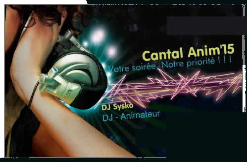 cantal Anim 15 : DJ Animateur