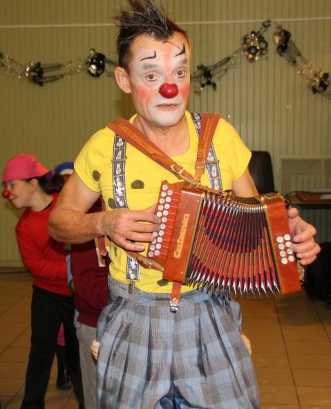 Pouet-Pouet le clown : clown