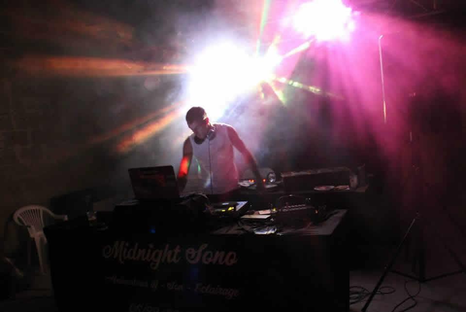 Midnight Sono : dj animateur