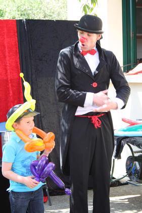 PUTCHO Le Clown Magicien : Clown magicien, sculpteur de ballons