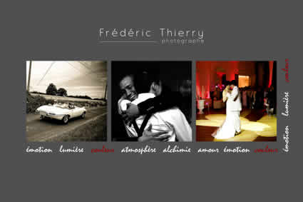 FREDERIC THIERRY PHOTOGRAPHE MARIAGE