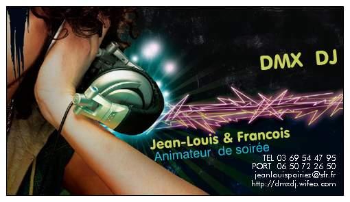 DMX DJ : ANIMATEUR DE SOIREE
