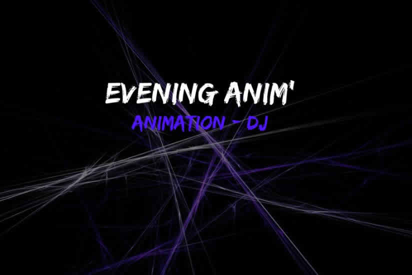 Evening Anim : DJ ANIMATEUR