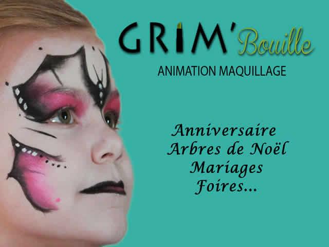 Grim'Bouille : Maquilleuse enfants professionnelle