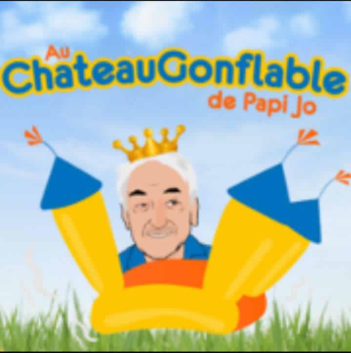 Au Château Gonflable de Papi Jo : Location de Structures Gonflables