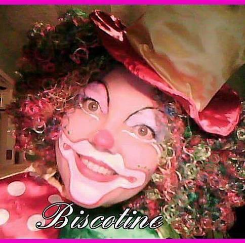 Clown Biscotine : animation clown, mariage, anniversaire