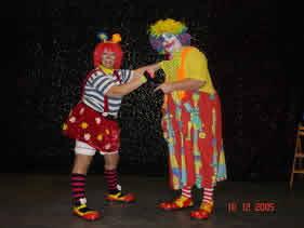 TARTINETTE ET PATAPOUF : Clown, mariage, anniversaire