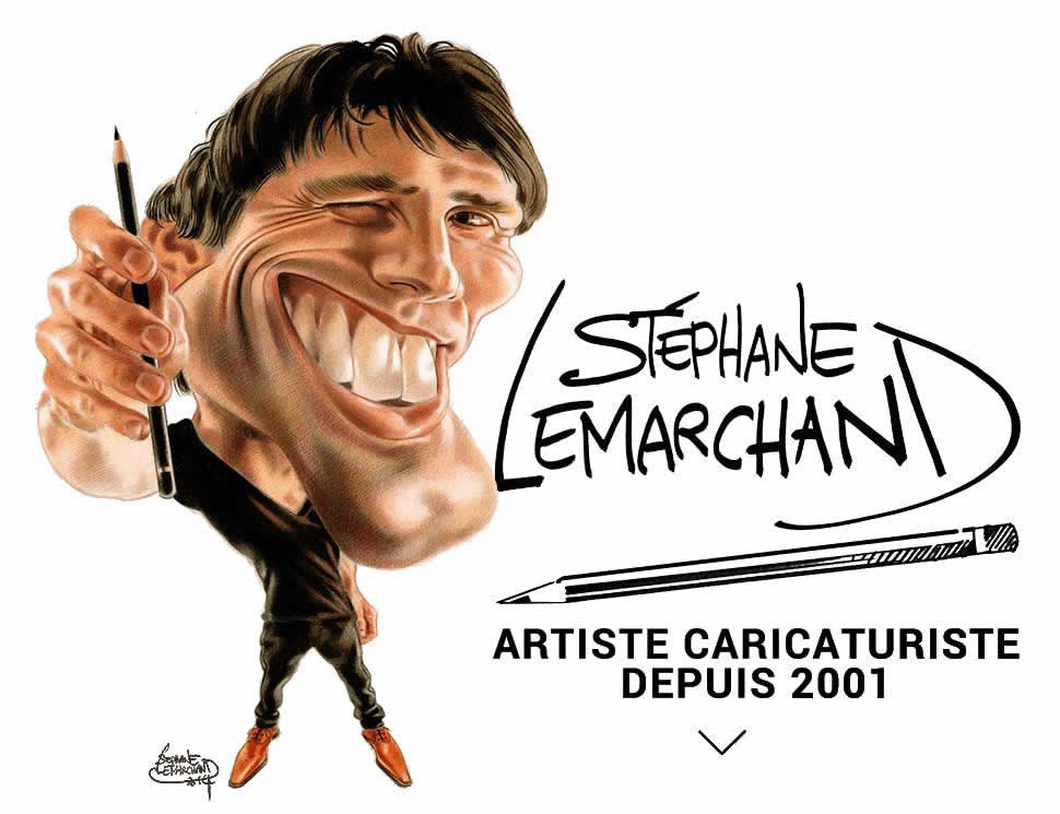 CARICATURISTE Séphane Lemarchand