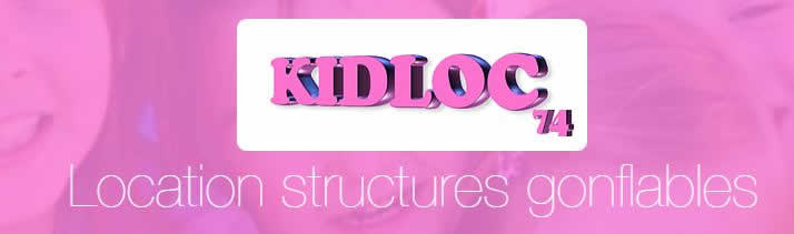 kidloc74 : Structure gonflable, mariage, soirée