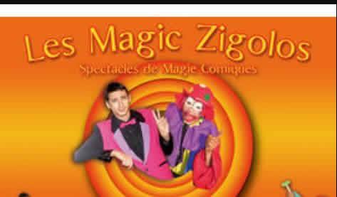 LES MAGIC ZIGOLOS : magicien, mariage, baptême
