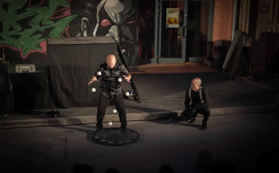 les rustines : cirque, jonglage, vélo acrobatique