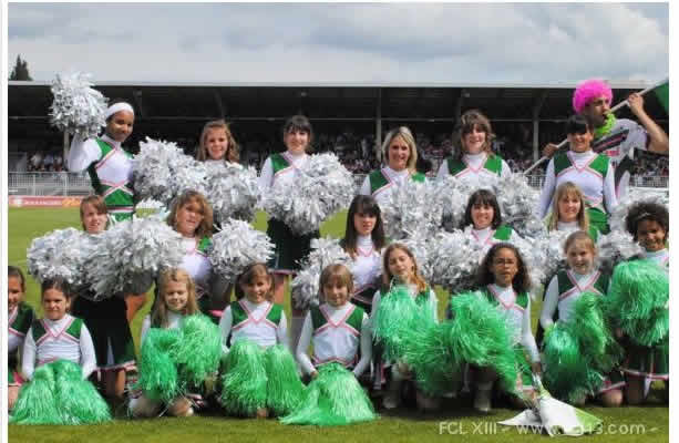ANIMATION POMPOM GIRLS  cheerleading