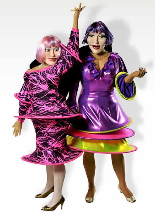 Marionnettes En Folies : Comédien