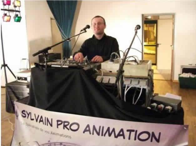 sylvain pro animation : dj animateur