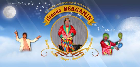 BERGAMIN : spectacles de poésies, cirque et clown interactif