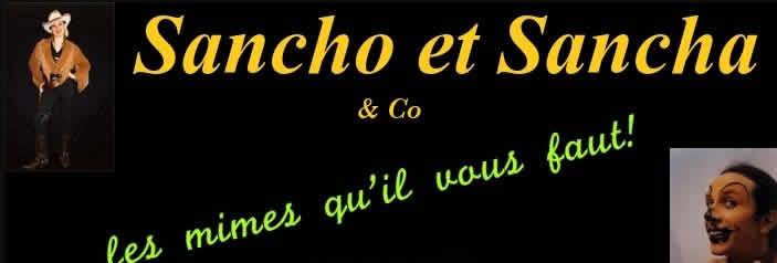 Sancho et Sancha : mime