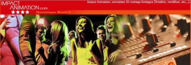 IMPACT ANIMATION : Une fête animée par un DJ