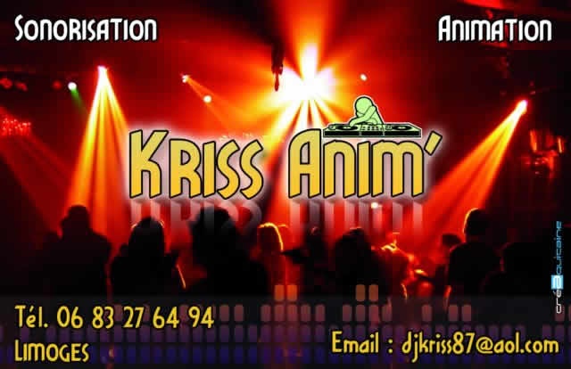KRISS ANIM' : animation & sonorisation