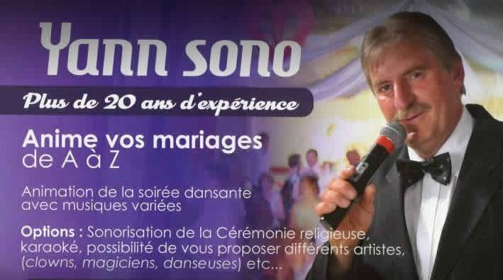 YANN SONO DECO : Cérémonie de mariage avec un Dj