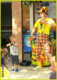 NANAR LE CLOWN : Clown  pour une fête d'anniversaire