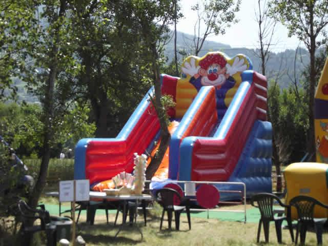 Mont blanc kids : location de strutures gonflable