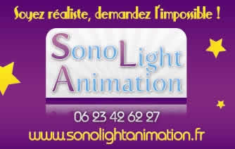 Sono Light Animation : DJ, sonorisation, éclairage, animation