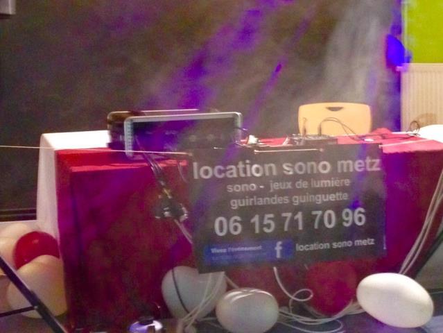 Location sono metz : Location sono et jeux de lumière