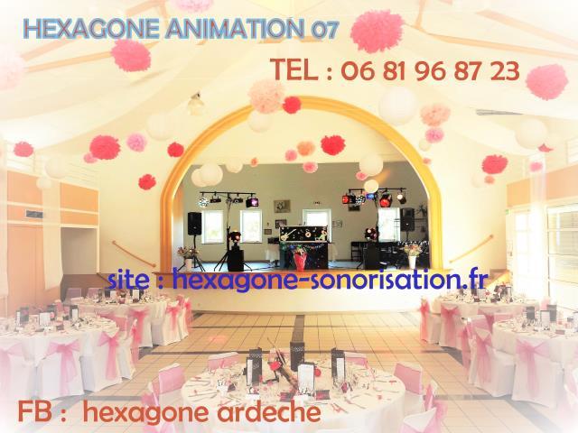 hexagone animation : dj animateur mariage