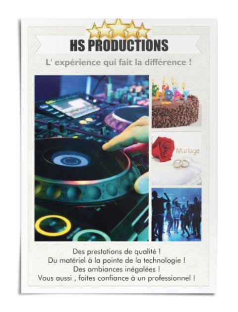 HS PRODUCTIONS - Votre DJ Animateur Professionnel : L'expérience qui fait la différence
