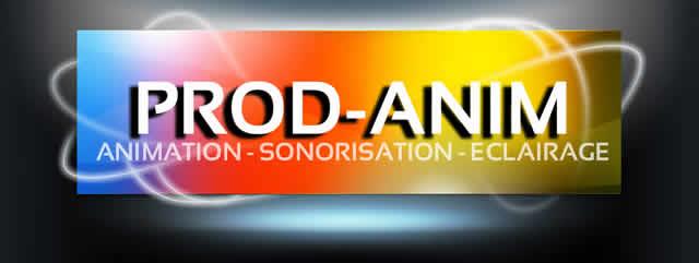 PROD-ANIM : animation sonorisation eclairage