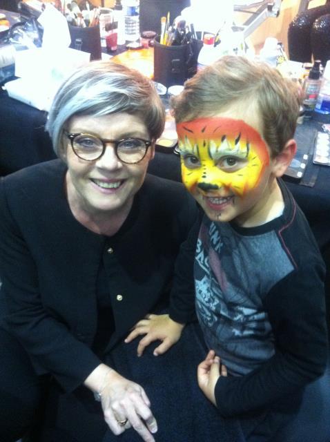 Marielle Courtin MUA : Maman! je veux un maquillage enfant de lion RRR