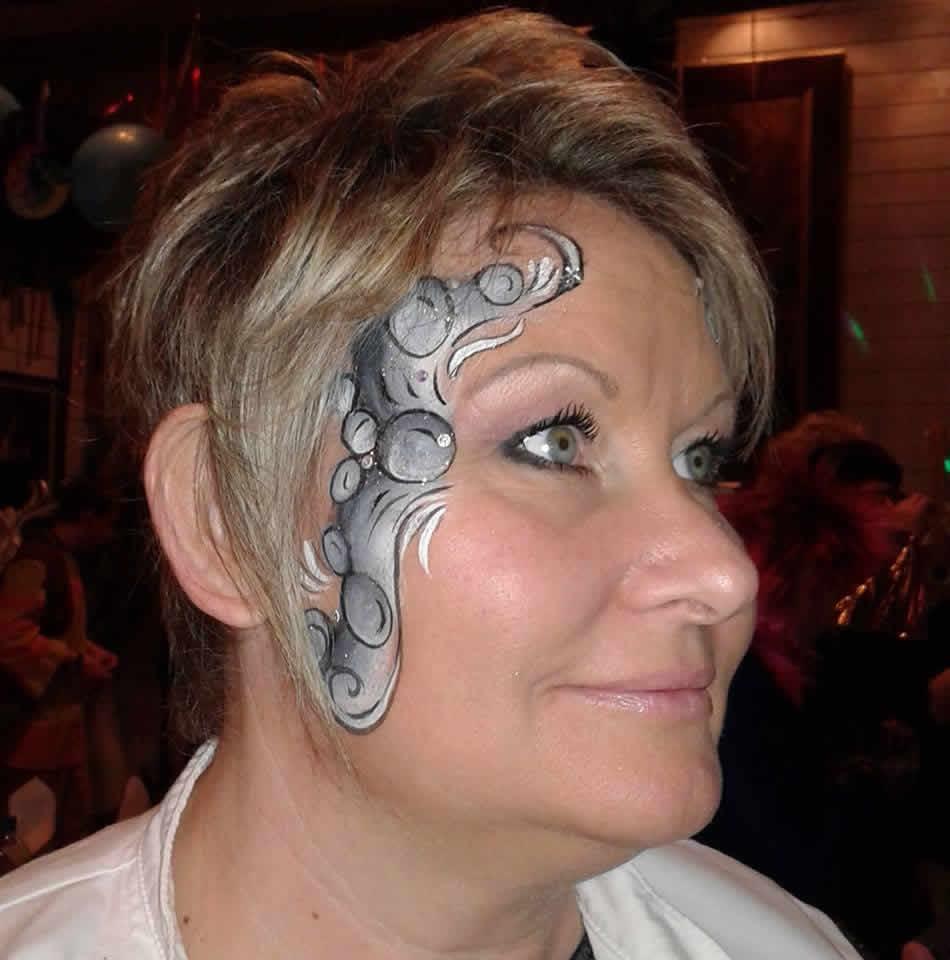 mere-veilleuse  : Maquillage artistique enfants