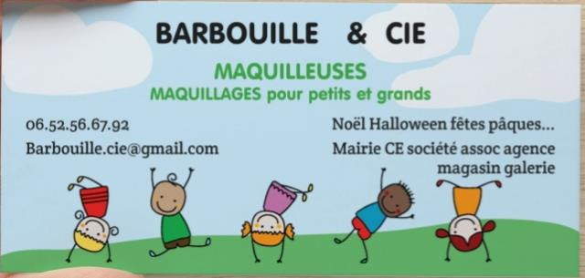 BARBOUILLE & CIE : Barbouille & cie maquilleuses Breizh