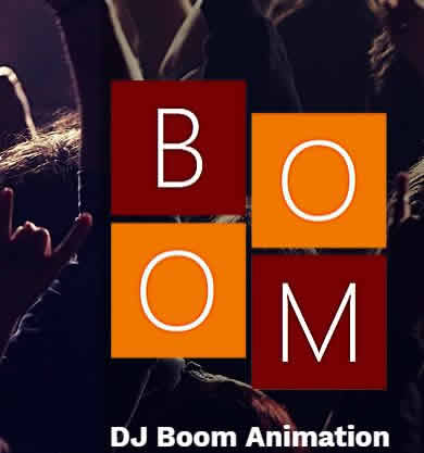DJ BOOM Animation