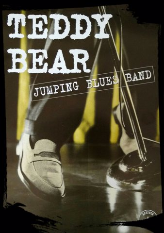 TEDDY BEAR jumping blues band