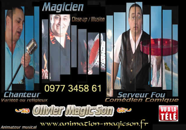 Artiste Olivier Magic'Son