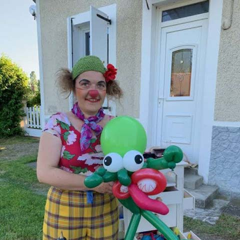 La Siphonée : Cie de clown, burlesque, ballon sculpté