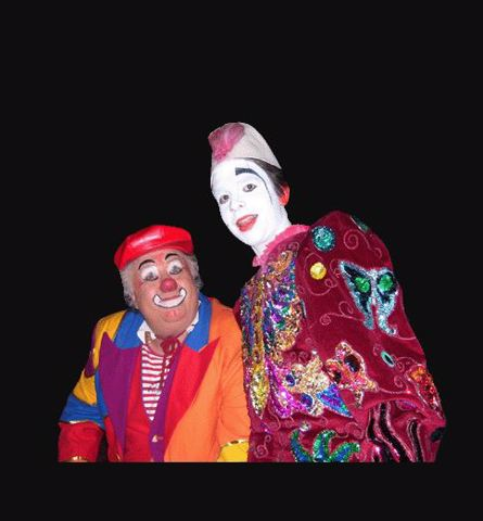 CLAUDE BRUNEL CLOWN PRESENTATEUR