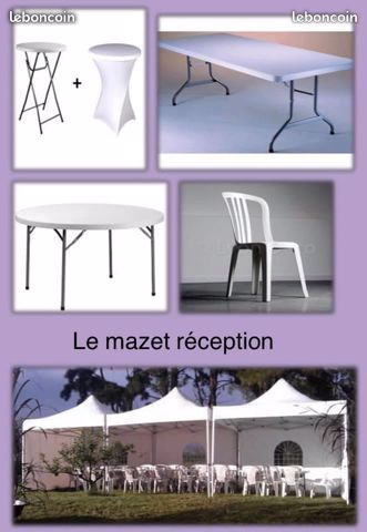 Le mazet reception